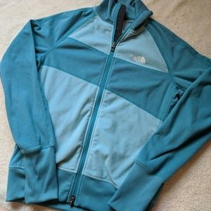 The North Face Teal Fleece Jacket
